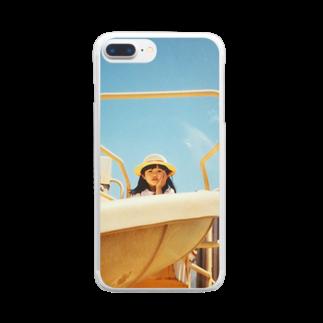 肉汁サイドストーリーのるんげ3歳 Clear smartphone cases