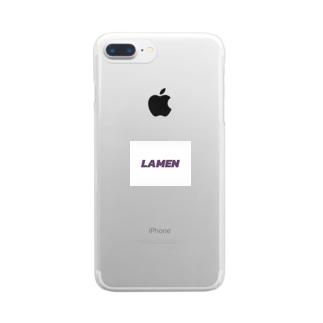 LAMEN Clear smartphone cases