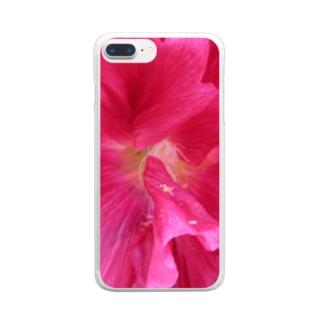 素敵な恋の色 Clear smartphone cases