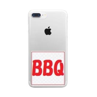 BBQ  インパクト クリアスマートフォンケース