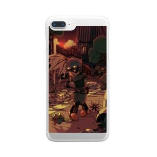 傘ゴルフ Clear smartphone cases