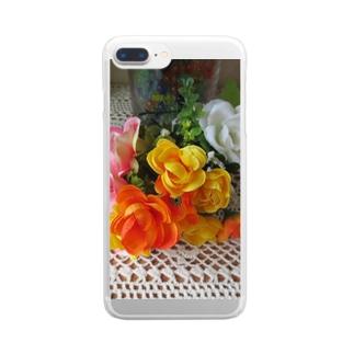 さあ!飾ろう!!No.6 Clear smartphone cases