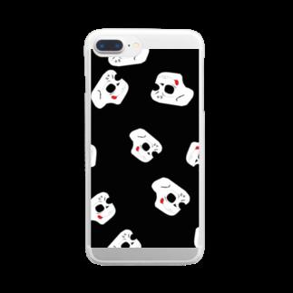 装甲の装甲の初代サムネ Clear smartphone cases