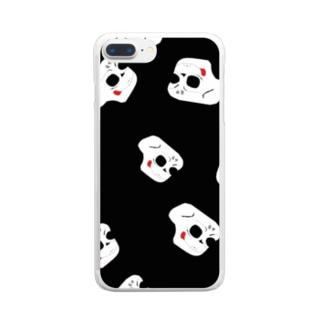 装甲の初代サムネ Clear smartphone cases