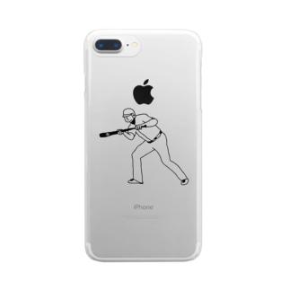 バント Clear smartphone cases