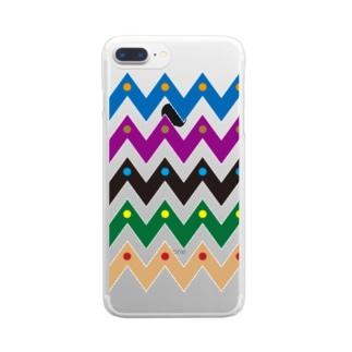 山達 Clear smartphone cases