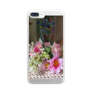 飾ってみるとNo.5 Clear smartphone cases