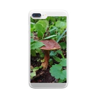 コウジタケ Clear smartphone cases