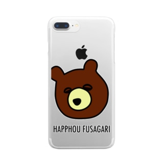 BEAR 2 Clear smartphone cases