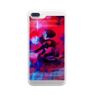 赤鬼 Clear smartphone cases