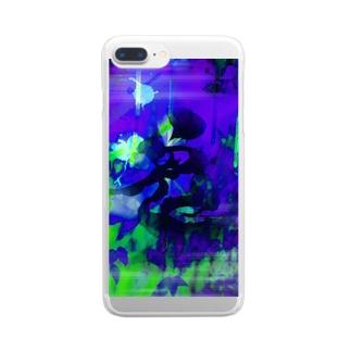 青鬼 Clear smartphone cases
