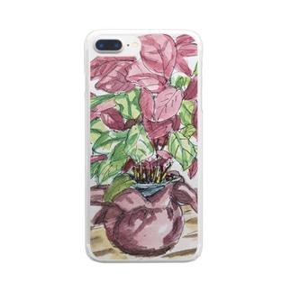 アトリエT.K  Clear smartphone cases