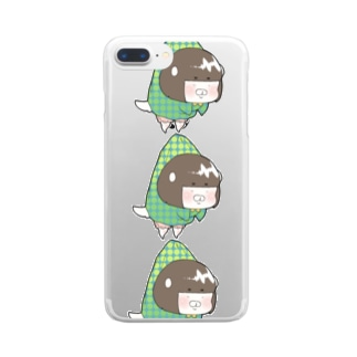ank縦ver Clear smartphone cases