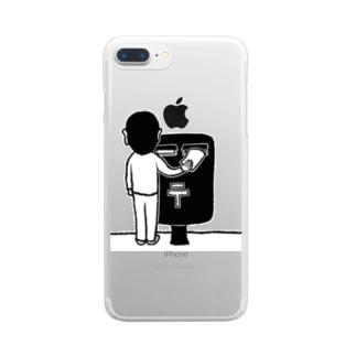 投函 Clear smartphone cases