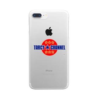 TARCY★CHANNELロゴ クリアスマートフォンケース