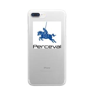 パーシヴァル Clear smartphone cases