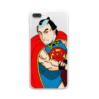超太郎 Clear smartphone cases