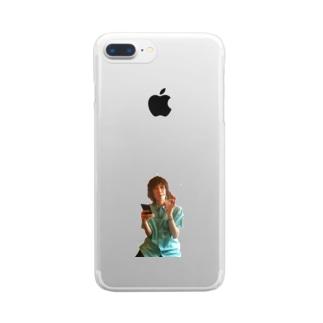 ムーンビレッジ.png Clear smartphone cases