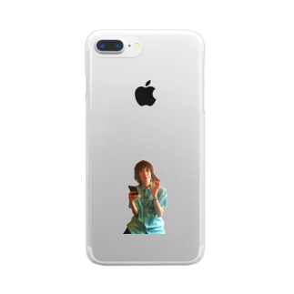 ミヤザキイツキのムーンビレッジ.png Clear smartphone cases