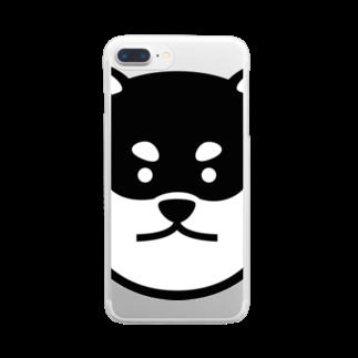 柴道楽のSHIBADORAKU Clear smartphone cases