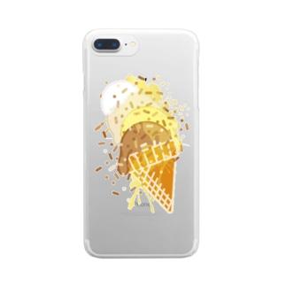 Ice_Cream Clear smartphone cases