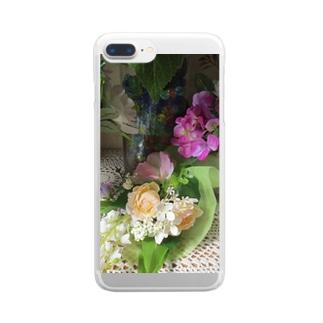 香しき香りNo.4 Clear smartphone cases