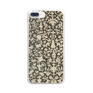 Lace01 Clear smartphone cases