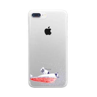 ボートレース Clear smartphone cases