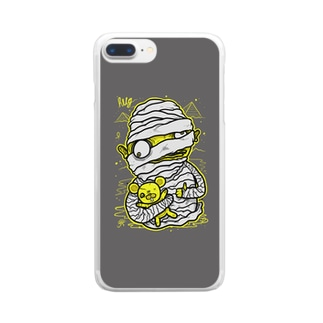 Mummy Grey Clear smartphone cases