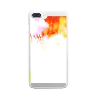 ウナーゴン20億3千万販売所のばくはつ! Clear smartphone cases