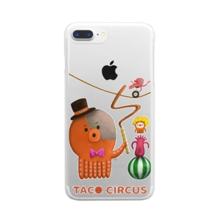 TACO CIRCUS Clear smartphone cases