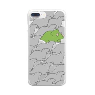 さうるすとぷすさうるす Clear smartphone cases