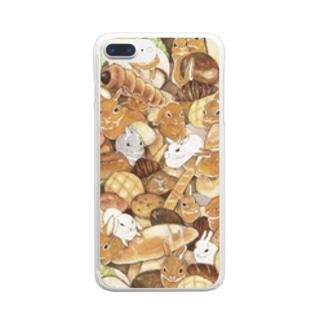 うさパン Clear smartphone cases