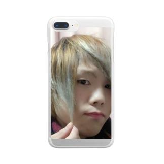幼ろっぱのアイテム Clear smartphone cases
