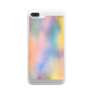 ぼんやり Clear smartphone cases