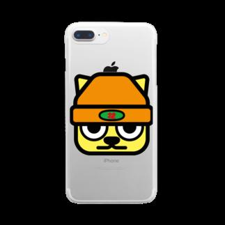 原田専門家のパ紋No.3272 花 Clear smartphone cases