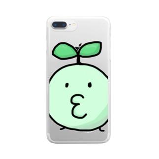 うぽ Clear smartphone cases