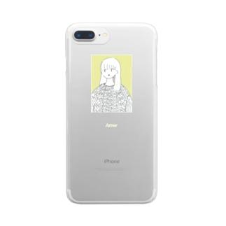 よろい Clear smartphone cases