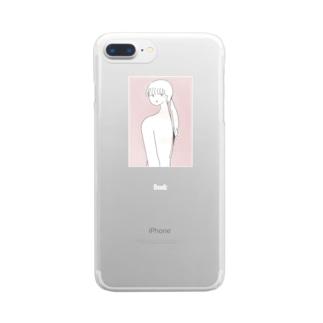 せなか Clear smartphone cases