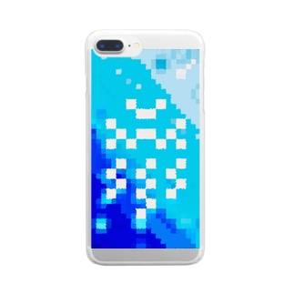 """𐑖ܟ𐑛ꠧ"""" Clear Smartphone Case"""
