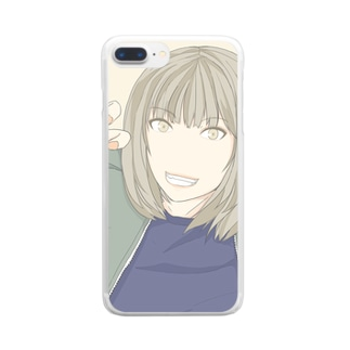 GIRL_A_COLOR Clear smartphone cases