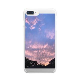 夕焼け2弾 Clear smartphone cases