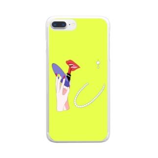 ミラー Clear smartphone cases