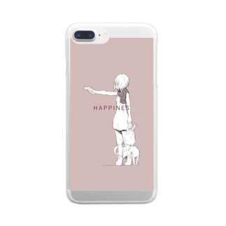 HAPPINES Clear smartphone cases