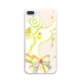 キーペガサス Clear smartphone cases