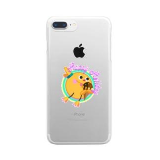 ジャンピング・リトル【アイスver】 Clear smartphone cases