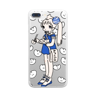 ぎょうざやさん Clear smartphone cases