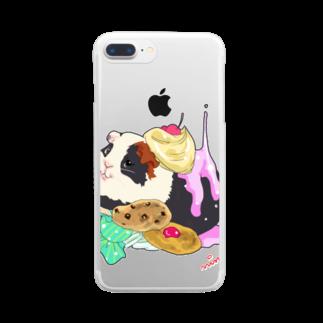 nins・にんずのyukino1 Clear smartphone cases