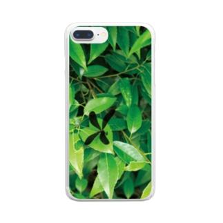 ハグロトンボ Clear smartphone cases