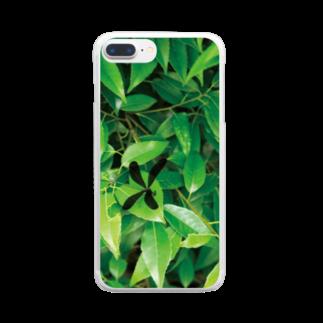 はるるるのハグロトンボ Clear smartphone cases